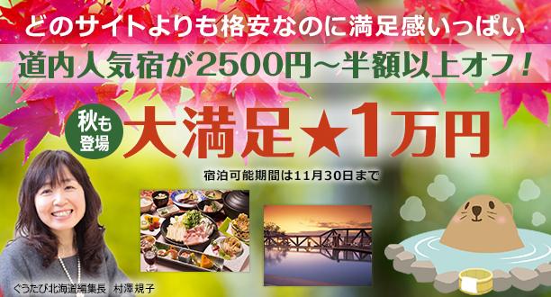 秋の大満足1万円